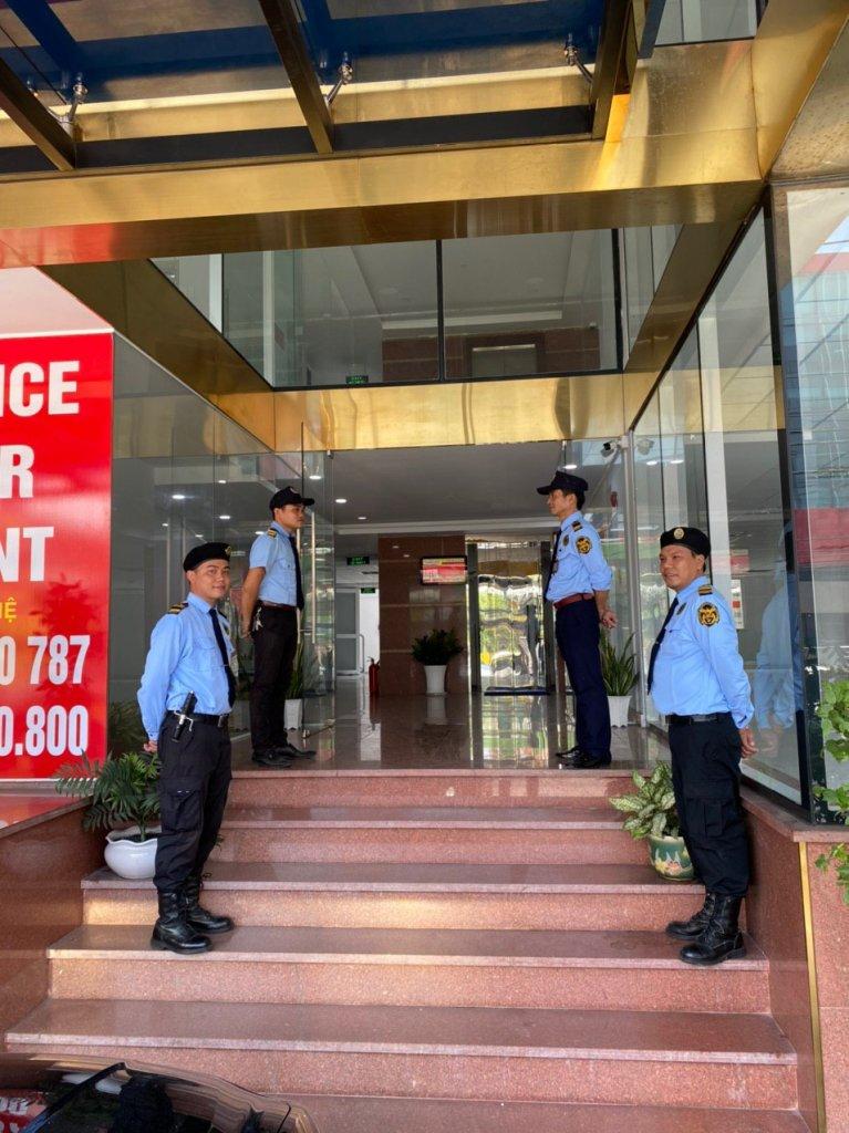 bảo vệ tòa nhà chung cư